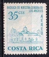 Costa Rica 1967 - Airmail - Churches And Cathedrals - Costa Rica