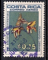 Costa Rica 1967 - Airmail - University Library - Orchids - Costa Rica