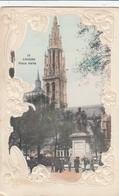 ANTWERPEN / GROENPLAATS  / RELIEFKAART 1907 - Antwerpen