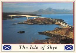 "4703"" THE ISLE OF SKYE-THE SKYE BRIDGE LINKING THE MISTY ISLE TO THE SCOTTISH MAINLAND "" PONTE-CART. POST. OR. NON SPED. - Scozia"