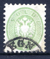 LOMBARDY VENETIA (Lombardei U. Venetien) 1864 Arms 3 Soldi Perf. 9½, Used.  Michel 20 - 1850-1918 Empire
