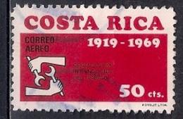 Costa Rica 1969 - Airmail - The 50th Anniversary Of ILO - Costa Rica
