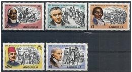 Anguilla: Abolizione Della Schiavitù, Abolition Of Slavery, Abolition De L'esclavage - Storia