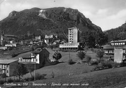 Cartolina Chatillon Panorama Sfondo Cava Marmo Verde 1958 Grinze - Non Classificati