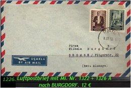 EARLY OTTOMAN SPECIALIZED FOR SPECIALIST, SEE....Luftpostbrief Nach Bremen - 1921-... República