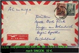 EARLY OTTOMAN SPECIALIZED FOR SPECIALIST, SEE....Luftpostbrief NachSingen - 1921-... República