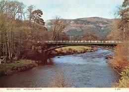 """4705"""" BETWS Y COED - WATERLOO BRIDGE """" PONTE-CART. POST. OR. NON SPED. - Galles"""