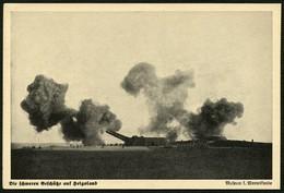 HELGOLAND Ca. 1936, BILD-PK AUS SKAGERAK-KALENDER 1936, ABB. SCHWERE GESCHÜTZE - Helgoland