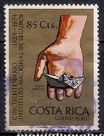 Costa Rica 1974 - Airmail - The 50th Anniversary Of Costa Rican Insurance Institute - Costa Rica