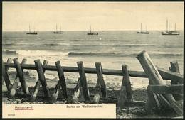 HELGOLAND 1904, BILD-PK, ABB. PARTIE AM WELLENBRECHER, UNGELAUFEN! - Helgoland