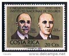 Costa Rica 1974 - Costa Rican Insurance Institute - Costa Rica