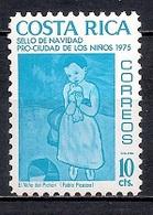 Costa Rica 1975 - Pro - Ciudad De Los Niños - Navidad - Costa Rica