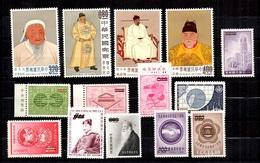 Taïwan/Formose 14 Timbres Specimen Neufs *. B/TB. A Saisir! - Collections, Lots & Séries