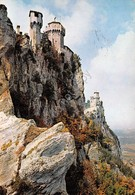 Cartolina Repubblica Di San Marino La Rocca 1961 - San Marino