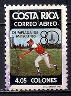 Costa Rica 1980 - Airmail - Olympic Games - Moscow - Costa Rica