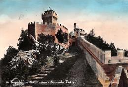 Cartolina Repubblica Di San Marino Seconda Torre 1957 - San Marino