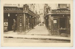 "ESPAGNE - GRANADA -  Carte Pub ""SAN ANTONIO - CASA VALDIVIA "" - Manufacturing Of Manila Shawls, Spanish Laces ... - Granada"