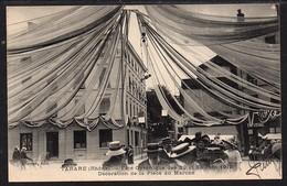 TARARE . Fête Gymnique Des 29 Et 30 Juin 1912.Décoration De La Place Du Marché - Tarare
