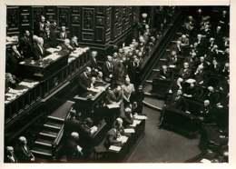 190719 - PHOTO DE PRESSE 1938 - PARIS POLITIQUE - Présentation Nouveau Ministère Au Parlement M DALADIER - Personalidades Famosas