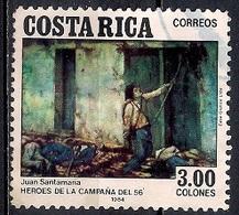 Costa Rica 1984 - The 1856 Campaign Heroes - Costa Rica