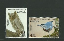 2019 Turkey Birds EUROPE MNH ** - Nuevos