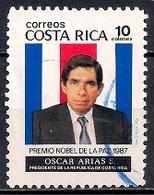 Costa Rica 1987 - Award Of Nobel Peace Prize To President Oscar Arias Sanchez - Costa Rica