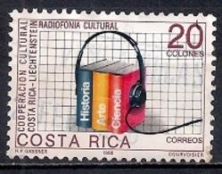 Costa Rica 1988 - Costa Rica-Liechtenstein Cultural Co-operation MINT - Costa Rica