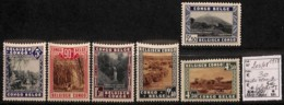 [814487]TB//*/Mh-c:30e-Congo Belge        1938 - N° 203/08, Parcs Nationaux, Paysages, SC, */mh Légère - 1923-44: Neufs