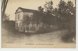 AFRIQUE - ALGERIE - BLANDAN - Les Ecoles Et La Mairie - Other Cities