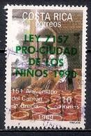 Costa Rica 1989 - The 151st Anniversary Of Grecia County (Overprinted) - Costa Rica