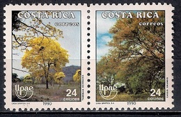Costa Rica 1990 - America UPAEP - The Natural World - Costa Rica