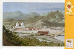 Lote PEP1350, Colombia, 2019, Entero Postal, Postcard, Historia, History, Santa Marta, Edward Mark Watercolor, Church - Colombia