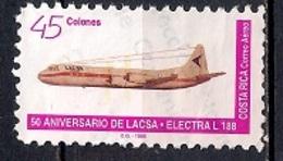 Costa Rica 1996 - Airmail - The 50th Anniversary Of LACSA - Costa Rica