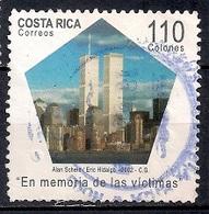 Costa Rica 2002 - The 1st Anniversary Of Attack On World Trade Centre, New York - Costa Rica