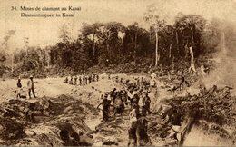 RARE MINES DE DIAMANT AU KASAI - Congo Belga - Otros