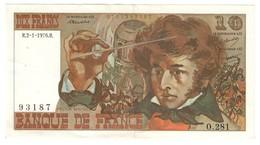 France 10 Francs 02/01/1976 - 1962-1997 ''Francs''