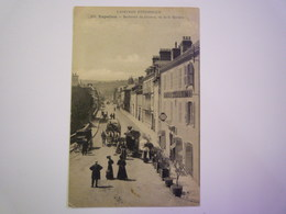 GP 2019 - 1718  ESPALION  (Aveyron)  :  Boulevard Du Guizard , Vu De La Barrière   XXX - Espalion
