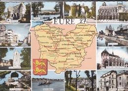 27-----EURE  27---multi-vues---( Carte Routière )--voir 2 Scans - Unclassified