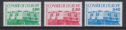 France 1986 Conseil De L'Europe 3v  ** Mnh (43557A) - Europese Gedachte