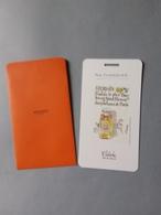 HERMES :carte Dans Sa Pochette Calèche - Perfume Cards