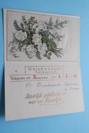 TELEGRAM Uit KUURNE Den 8-9-1945 > Van Demeulemeester-Depoortere ( HUWELIJK ) Belgique - Belgium ! - Faire-part