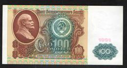 RUSSIA USSR 100 Rubles 1991 Series  АГ - Russia