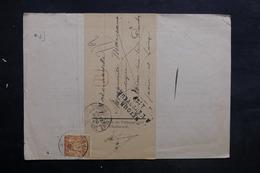 FRANCE - Lettre En Recommandé De Chalon / Saône Pour Verdun Sur Doubs En 1894 Et Retour, Affranchissement Sage - L 35239 - Marcophilie (Lettres)