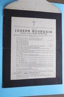 DB Joseph BOURGOIS ( Gerarda Vanrenterghem ) KUURNE 7 Juni 1895 - HEULE Watermolen 5 Juni 1942 ! - Overlijden