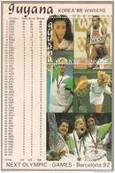 Guyana Hb Michel 41 Oro - Verano 1992: Barcelona