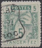 Maroc Postes Locales - Tanger à Fez - N° 121 (YT) N° B1 (AM) Oblitéré. - Postes Locales & Chérifiennes