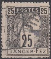 Maroc Postes Locales - Tanger à Fez - N° 124 (YT) N° B4 (AM) Oblitéré. - Marruecos (1891-1956)