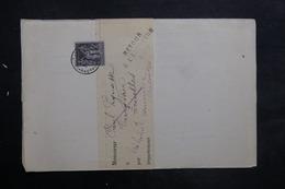 FRANCE - Lettre De Chalon / Saône Pour Ecuelles En 1886 Et Retour, Affranchissement Sage 1ct - L 35241 - Marcophilie (Lettres)