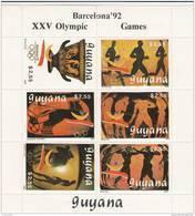 Guyana Nº Michel 3064 Al 3069 En Hoja - Ete 1992: Barcelone