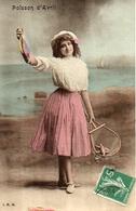 Bergeret 1er Avril Poisson - Jeune Femme (IRN) Nancy - Erster April
